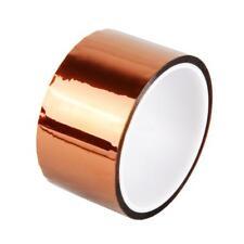 50mm 5cm x 30M Kapton Tape Sticky High Temperature Heat Resistant Pol_Gift