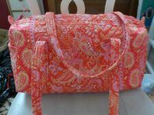 Vera bradley  small duffel bag travel  Sherbert pattern  #1