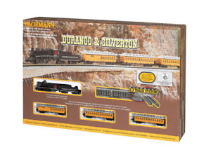 Bachmann Trains 24020 Durango & Silverton N Scale Ready To Run Train Set