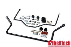 Belltech 99-06 Silverado/Sierra Front & Rear Sway Bar Set