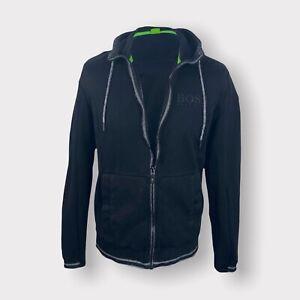 Hugo Boss Full Zip Hoodie Track Jacket Men's Red Size XL Modern Fit