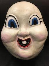 plástico NUEVO Película HAPPY DEATH Día Face Disfraz Máscara Niño Adulto Cosplay