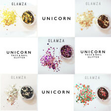 5 x Pots Mixed Unicorn Chunky Mixed Cosmetic Glitter Face Body Festival Freckles
