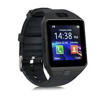 Montre Connectée Smartwatch Caméra GSM Sport Bluetooth Android IOS DZ09 Noir