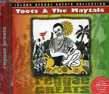 Toots & The Maytals Reggae Greats CD NEW SEALED Pressure Drop/Monkey Man/54-46+