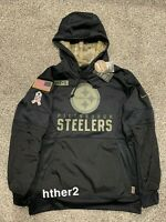AUTHENTIC Nike 2020 Pittsburgh Steelers Salute to Service Hoodie ALL SIZES