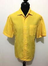 GFF GIANFRANCO FERRE' Camicia Uomo Cotone Lino Linen Cotton Man Shirt Sz.L - 50