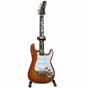 Axe Heaven Stevie Ray Vaughan Signature Hamiltone Mini Guitar Replica Sunburst