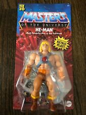 2020 Masters of the Universe MOTU Origins He-Man