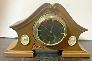 Vintage BENEDICT ATHENIC BRONZE Clock Case - Not Original Clock