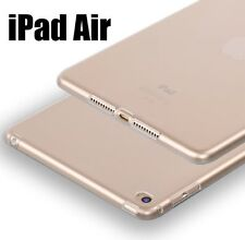 For Apple iPad AIR - Transparent Clear TPU Rubber Skin Ultra Thin Case Cover