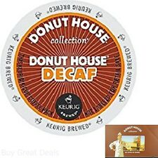 Donut House Collection Donut House Decaf, K-Cup Portion Count For Keurig K-Cup