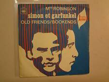 "SIMON & GARFUNKEL: Mrs. Robinson-Old Friends/Bookends-France 7"" 68 CBS 3443 PSL"