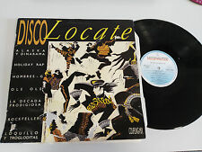 "DISCO LOCATE - LP - VINILO - VINYL 12"" 1986 Original Press G+/VG Alaska Dinarama"
