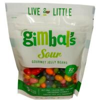 GIMBAL'S (7oz) BAG - Gourmet SOUR Jelly Bean Candy - 1 to 12 BAGS SHIP FREE