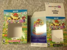 Two Yoshi's Woolly World (Nintendo Wii U, 2015) Cardboard