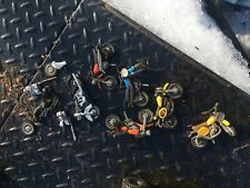 New listing 1970-1980 Die Cast Motorcycles Toy Dirt Bike Made In Hong Kong Several Four Plus