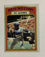 1972 Topps Billy Williams # 440 Baseball Card Chicago Cubs In Action HOF