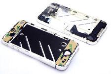 für iPhone 4 Chrome Glänzend Mittelrahmen Middleframe Ladebuchse Flex Kamera