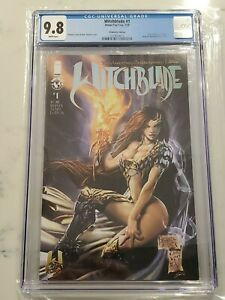 Witchblade #1 25th Anniversary Kickstarter Variant CGC 9.8 Only 1 in Census