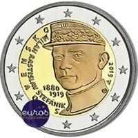 Pièce 2 euros commémorative SLOVAQUIE 2019 - Milan Rastislav Štefánik - UNC