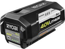 Ryobi 40-Volt Lithium-Ion 5 Ah High Capacity Trimmer Cordless Battery