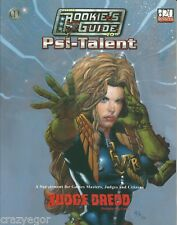 Judge Dredd RPG Rookie's Guide to Psi-Talent d20 *FS Mongoose Publishing