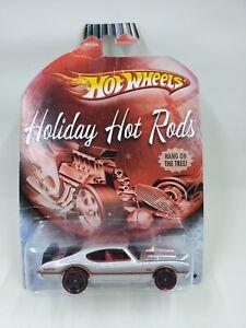 2009 Mattel Olds 442 Hot Wheels Redline Holiday Hot Rods Metal Flake Car L61
