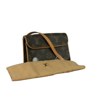 Louis Vuitton LV Monogram Pochette Furorantinu M51855 Used O 3-38-C37