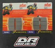 Bimota 1002 Dieci 1991 SBS Race Sintered Front Brake Pads 566RS
