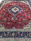 WOW__ __BEAUTIFUL  HAND WOVEN WOOL RECTANGLE RUG- 10' X13'- SEE OTHER CARPETS