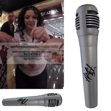 Country Star Ashley McBryde Signed Autographed Microphone Mic Proof Photo COA