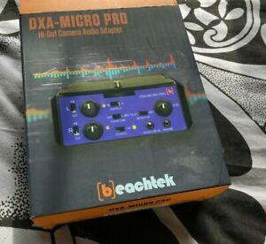 BeachTek - DXA - Micro Pro - Camera Amp - Audio Adaptor