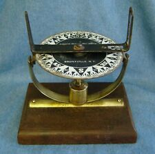 Antique 1930s Pelorus / Dumb Compass Boyce Meier maritime navigation tool