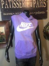 3022e35bbeb5 Nike Sleeveless Purple Pullover Hoodie Court 802555-547 Women s XL