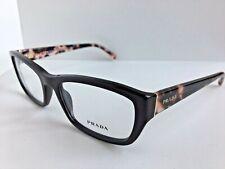 New PRADA VPR 1O8 HOD-1O1 52mm Brown Women's Eyeglasses Frame No case #3