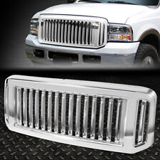 FOR 05-07 FORD F250 F350 SUPER DUTY BADGELESS FENCE DESIGN FRONT BUMPER GRILLE
