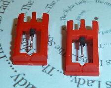 Due Giradischi Stylus per Sanyo ST17D Made in UK, 2 STILETTI