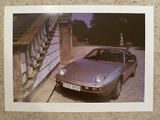 1984 Porsche 928 Showroom Advertising Sales Poster RARE!! Awesome L@@K