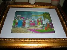 "C.T. Russell PHOTO-DRAMA of Creation Photo ""Jesus Before Herod"" Watchtower"