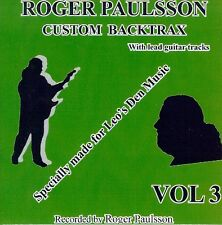 ROGER PAULSSON'S 'SHADOWS STYLE' BACKING TRACKS CD  Vol.3   With & without lead.