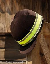 Harlequin Reflective Hat Band High Visibility Hi Viz Riding Safety Free P & P!