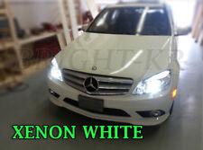 Mercedes Classe C W204 Bright XENON 6000K blanc SMD DEL Ampoules Anti-brouillard