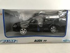 Véhicules miniatures noirs WELLY Audi