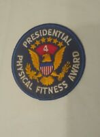Vintage Presidential Physical Fitness Award 4 Patch *RARE*