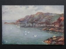 Channel Islands: GUERNSEY Le Gouffre - Old Postcard by Raphael Tuck & Sons