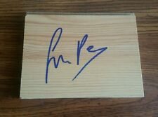 floorboard signed by Simon Pegg - Autograph - Star Trek - Shaun of the dead