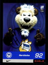 Herthinho Autogrammkarte Hertha BSC Berlin 2000-01 Original Signiert+A 183758