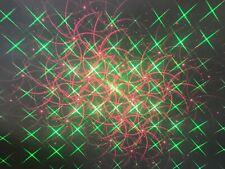 Laser & LED Flood Light, Red & Green Laser Projecting Light Show