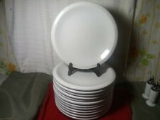 """1 Culinary Arts CAFEWARE WHITE 10 1/4"""" Dinner Plate 12 Available"""